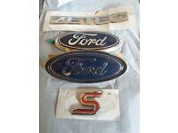 ford focus zetec s badges all brand new.