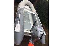 Xpro Sea Rover aluminium rib 3.6m perfect boat tender dinghy inflatable