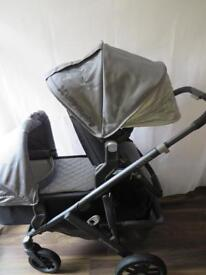 Uppababy Vista Double Pascal Grey 2015 model