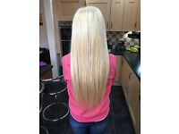 HAIR EXTENSIONS - Micro rings, nano rings, celebrity weave and tape weft extensions