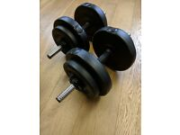 7.5KG DUMBELLS FOR SALE! Only £15