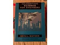 Foundation Science for Engineers Textbook