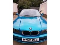 BMW convertible rare colour