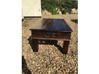 Solid wood coffee table,