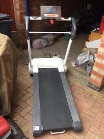 Reebok I run electric folding walking jogging running treadmill machine.