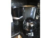 Cookworks Filter Coffee Maker with Timer