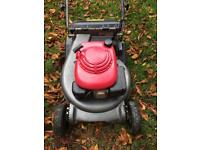 Honda HRD 535 roller self propelled mower. Great for stripes, just serviced. Over £1000 new.