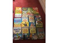 Bundle of 26 Horrible Histories,Science and Geography Books.