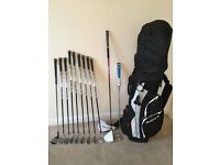 Full Set Right Handed Graphite Taylor Made Golf Clubs