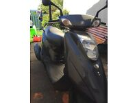 Good condition 125cc from Yamaha, 1 year mot, vo5 present,