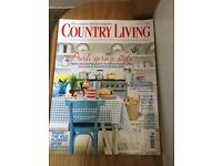 Country Living Magazines various dates x 70 2007, 2008, 2009, 2010, 2011, 2012, 2013