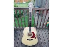 Washburn cumberland acoustic guitar .