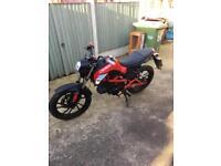 Kymco 50cc motorbike