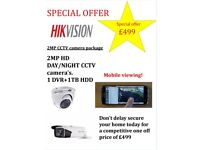 CCTV surveilance security camera package deal
