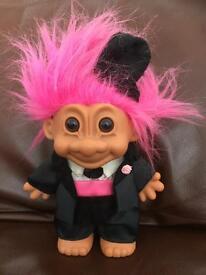 Original Russ Bride & Groom Troll dolls