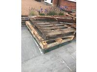 Free pallets, wood fence panels Edgware ha8