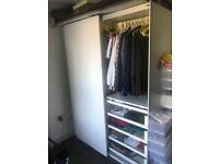 Customised IKEA wardrobe