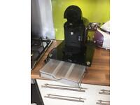 Tassimo with glass table/drawer