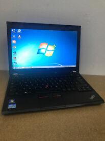 LENOVO X230, 4GB RAM, 12.6 HD, I5 2.6GHZ 320GB HDD WIN 7 64 BIT OFFICE AND ANTIVIRUS