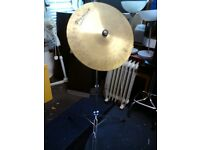 """Premier 22"""" Ride cymbal & stand £40 ono"""