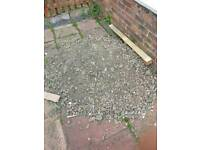 Soil mixed with stones need gone FREE TO COLLECT
