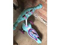 My first Disney activity scooter frozen