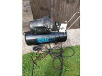 Sgs 100 l, air compressor