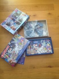 Frozen Puzzles and Operation Game