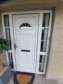 Front PVC White Door