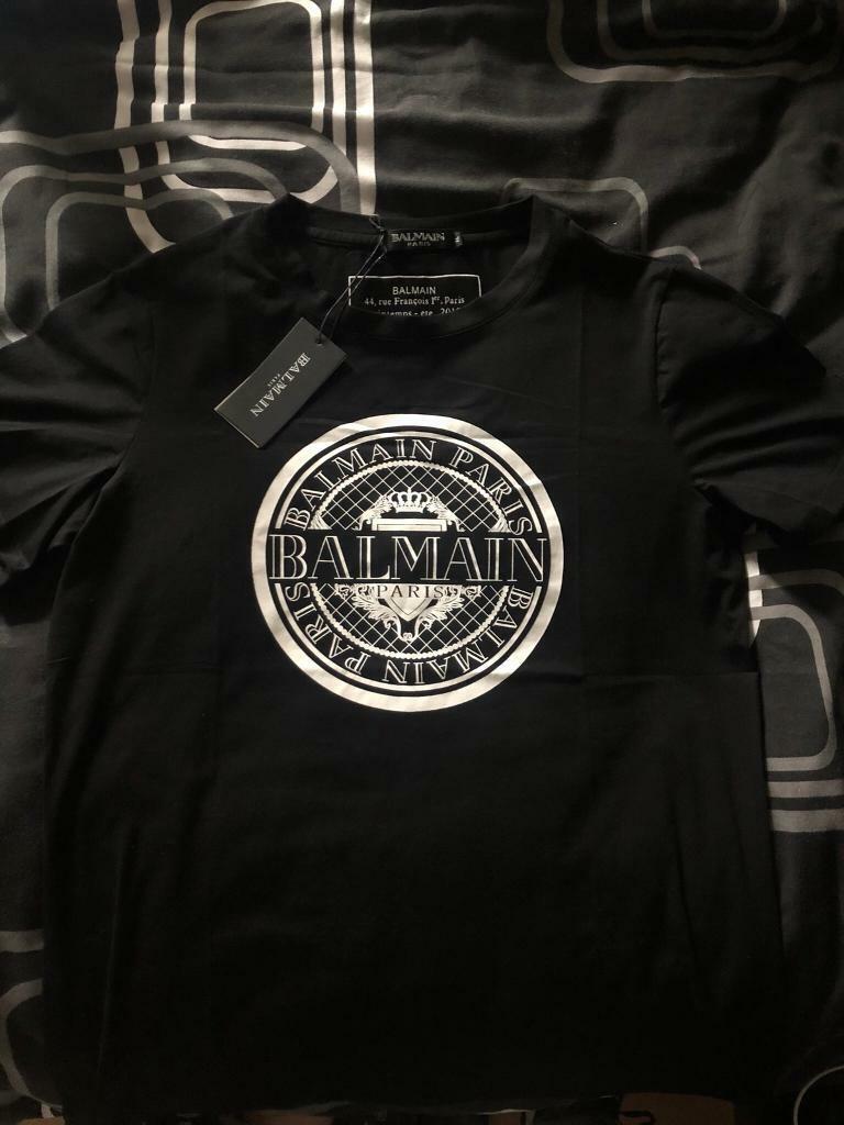 6ce5e7a0 Balmain Paris T-shirt black | in Helsby, Cheshire | Gumtree