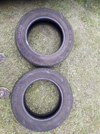 Tyres 195/65R15 x 2