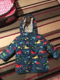 Boys marks and Spencer's coat 3-6 months