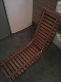 Wooden dog ramp