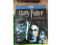 Harry Potter boxset blu ray