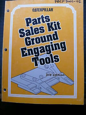 Cat Caterpillar Ground Engaging Tools Parts Manual 3 1996 Bucket Ripper Blade