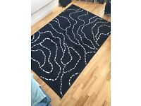 Ikea Rug Dark Blue