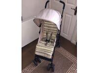 Mothercare Nanu Child Kids Pushchair Pram Buggy Stroller Beige