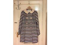 Woman´s Kling stripes coat size M