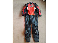 Clover RC 100 EVO 2 piece leathers over £700 when new