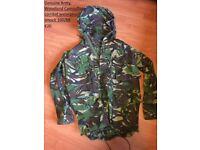 Unisex camouflage teenager clothing