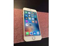 iPhone 6 | O2 / Tesco Mobile / GiffGaff | 16GB | White/ Gold