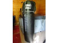 For Sale Ergo Black Boxing/Kick Boxing Punch Bag & Hanging Chain £25
