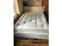 Sell Double mattress and Ottoman Bed