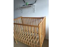 Compact space saver cot for sale