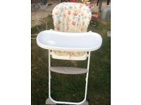 Free to collect Highchair