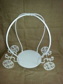 CAKE STAND Cinderella Carriage Cake Stand for rent in Brighton