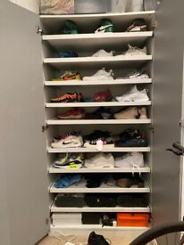 Custom IKEA Pax Wardrobe (Perfect for shoe storage!)