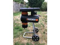 Worx Silent Shredder - Powerful chomped.