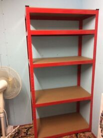 Racking shelves 180 x 90 as new reduced £20