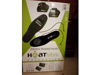 ELECTRIC HEATED INSOLE BNIB ideal practical & unusual gift idea commute! Or for outdoor workmen!